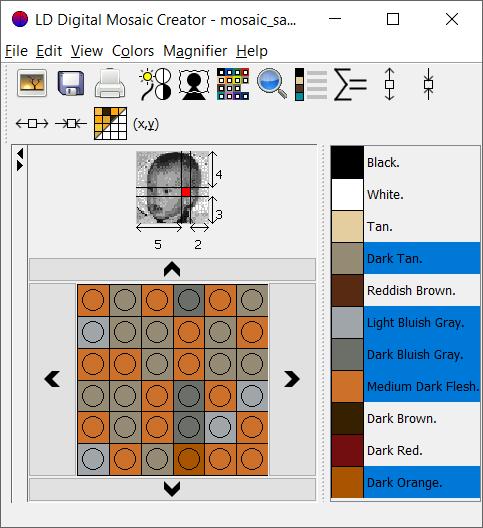 BrickGraphics: LDDMC, Griddy and BrickShaper
